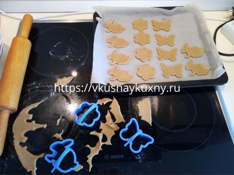 Имбирное печенье формочки для теста