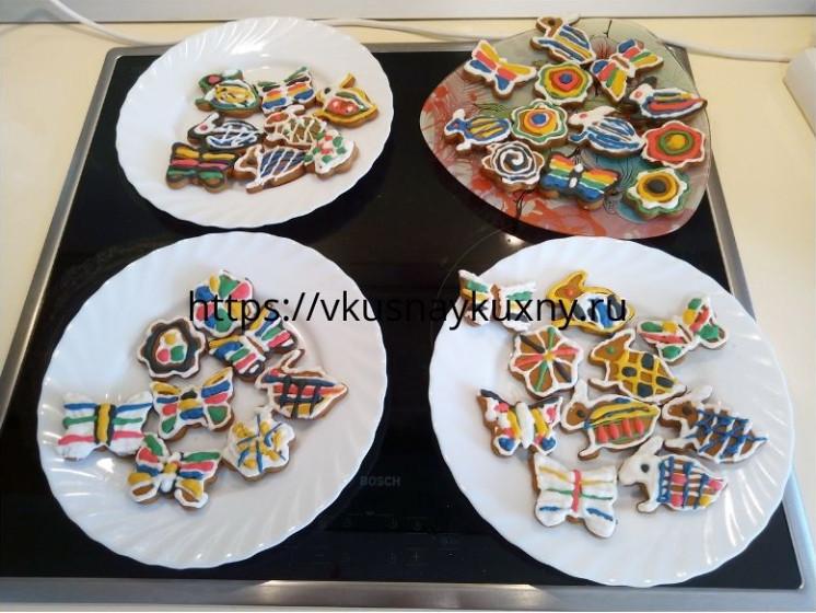 Имбирное печенье рецепт в домашних условиях с глазурью