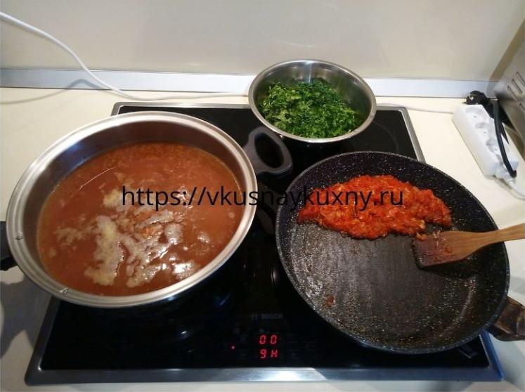 Как сварить суп харчо вкусно из говядины рецепт пошаговый