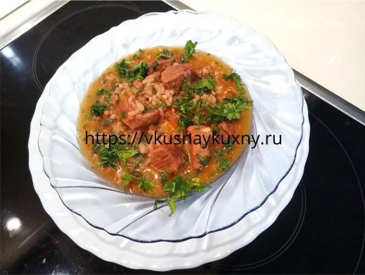 Суп харчо из говядины грузинский рецепт пошаговый