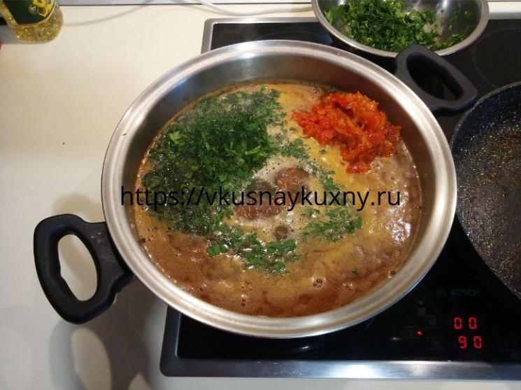 Суп харчо из говядины как приготовить вкусно