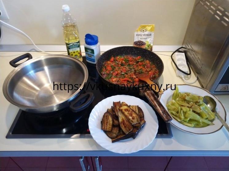 Имам баялды рецепт приготовления в домашних условиях на сковороде