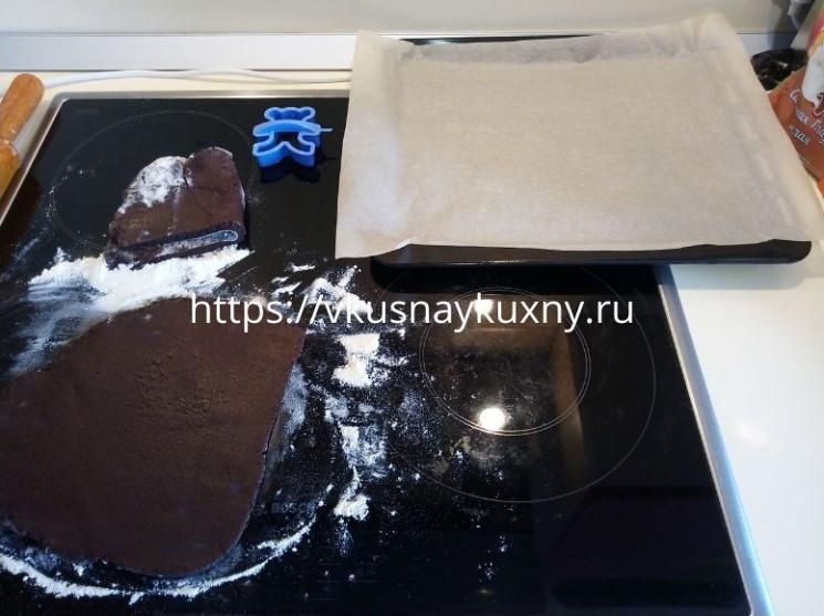 Как готовить шоколадное печенье с какао
