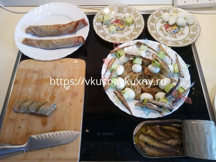 Канапе из свекольных блинов фото рецепт пошаговый