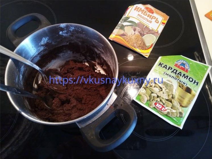 Шоколадное печенье рецепт простой с какао
