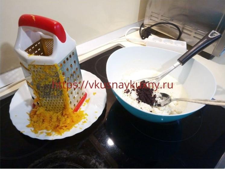 Творожная запеканка с тыквой и маком в духовке