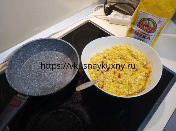 Запеканка с тыквой и творогом в духовке рецепт с манкой