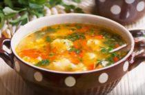 Суп из цветной капусты рецепт